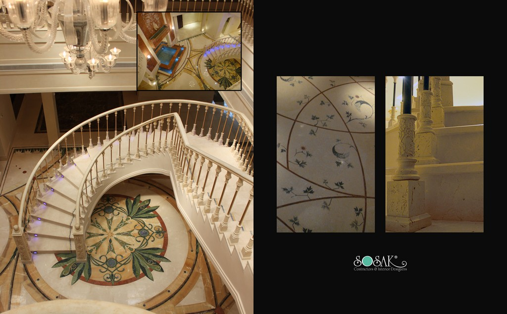 Luxury Marble and flooring design
